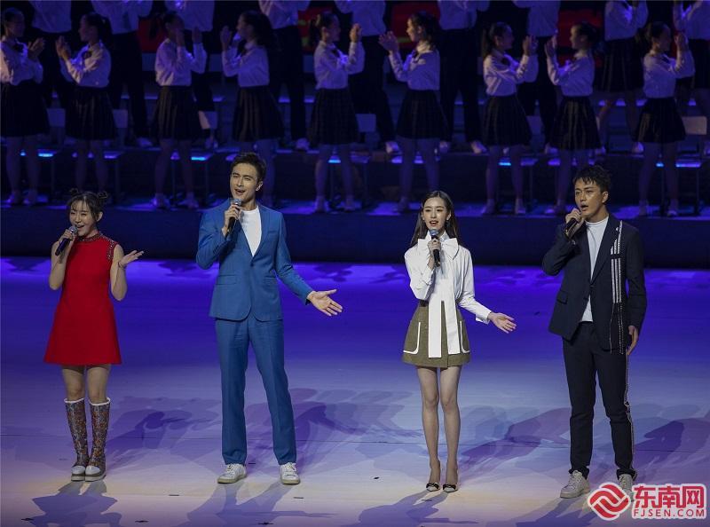 第28届中国金鸡百花电影节在厦举行 星光熠熠闪耀鹭岛图1