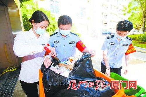 厦门公共机构垃圾分类工作以满分成绩通过国家验收
