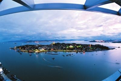 厦门旅游自拍风景照