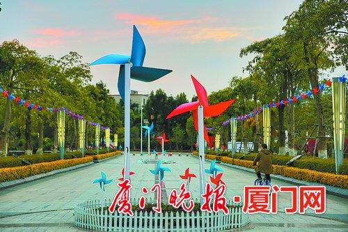 春节场景简笔画彩色