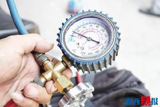 空调不制冷一定是缺氨? 一个小动作就能让压力