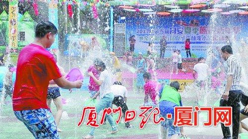 廈門同安金光湖景區十周年慶 邀您入園潑水狂歡